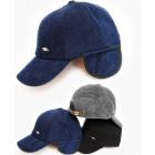C1954 Mens Corduroy Cap, Hat, with EarPads