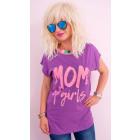 K536 Cotton Blouse, Women T-Shirt, Mom Of Girls