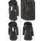 E21 Winter Womens Jacket, Corset in Talli, Czarna