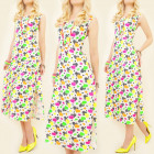 K422 SUMMER DRESS, NEON HEARTS, STRIPES