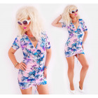D1494 Summer Dress, Dreamlike Look, Flowers