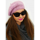 A1271 Fluffy Beret with Angora, Classical line