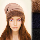 FL633 Winter Fur Hat, Cap, Warm Soft Fleece