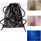 4808 Large Backpack, bag Glitter Sack, Glossy Look