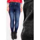 C17536 Leggings Jeans, Pantalons Leggins avec ouat