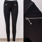 B16849 Trousers Women Pant, Treggings, Black
