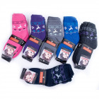 Womens Socks, cotton , Reindeer, 35-42, 5003