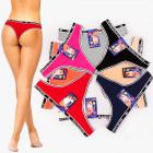 4793 Cotton Women Sporty Panties For 3XL, Thongs
