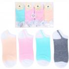 H107 Sneaker Socks, Women socks, pastel colors