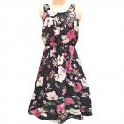 Women Summer Dress, M-2XL, C17813