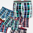 4532 Coton Hommes Boxers, Culottes, L-3XL, Grille