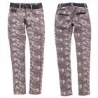 Women Jeans Pants, 25-30, Leather Inserts, B16874