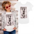 K575 Cotton T-Shirt , Top, Feels Like White