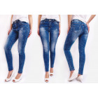 B16710 Parasolated Trousers Jeans, Patches