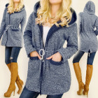C24140 Superjack, warme jas, sweatshirt, capuchon