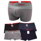 D2692 Cotton Boxers, L - 3XL, rayé