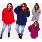 EM28 Women Plus Size Jacket, Kimono, Boucle MIX