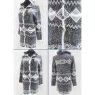 K61 Trendy Cardigan, Women Sweater, Aztec Pattern