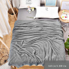 Blancket, Fluffy Plaid, Bed Coverlet 160x200, Z032