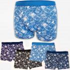 4782 Mens Bamboo Boxer Shorts, L- 3XL, Euro