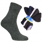 Mens Socks 39-42, Terry Knit, Made In Poland, 4863