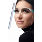 Protective shirld, visor with glasses - D5880