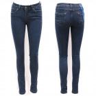 Jeans pour femmes, 25-30, bleu marine classique, B