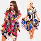 C17549 Shirt Dress, Plus Size, Orient Glamour
