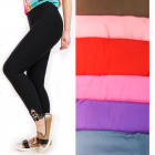 Plus Size Colorful Leggings, L-5XL, Lace, 5122