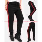 C17540 Women Sweatpants, Sporty Pants with Stripes