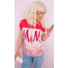 4573 Lovely Blouse, Summer Top, M & M Print