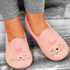 4331 Charming Ladies Ballerina Slippers: Kitten