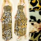 C1793 LONG DRESS, LOOSE FIT, ANIMAL MOTHER