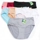 Bamboo Women's Panties, Flower XL- 2XL, 5541