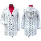 Fluffy Christmas Cardigan With Hood, M-2XL, 5141