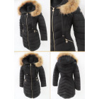 E26 Winter Women's Jacket, Snow White, Black B