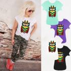 K612 Cotton Women Shirt , Top, Multicolored Owl