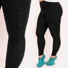 4713 Glamorous Leggings with Jet, Classic Black