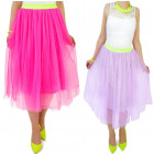 SPLENDED SKIRT, TULL, COLORS