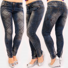 B16825 Pantalon en tube féminin, imprimé aztèque,