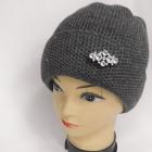 CZ24 Warm Woman Hat, Cap, 2 Layers, Decoration