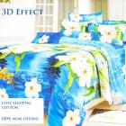 Bedding Set, cotton, 180x200, 3 Parts, Z015