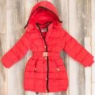A1970 Lange Jacke für Mädchen, Wintermantel
