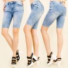 B16554 Große Shorts, Damen Jeans Shorts
