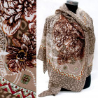 Weicher Schal, Schal, Orientalisches Muster, A1288