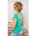 BB145 Loose Casual Top, chemisier pour femme, dos