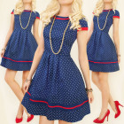 BI493 Attractive Dress, Charming Dots