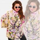 O19 Shawl, Women Scarf, Colorful Hummingbirds