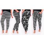 4272 Pantalon ample, fibre de bambou, grande taill