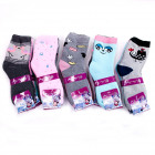 Women's socks, coton , Happy Patterns, 5056